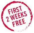 First 2 Weeks Free!
